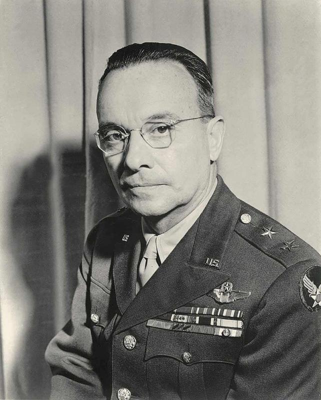 Maj Gen Lewis Brereton Commanding General 9th AF.