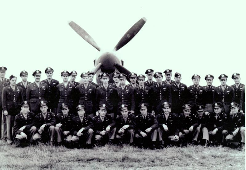 Bodney, England 1945  From the Squadron history '486th Mustang Jockeys, Bodney Airfield, England - June 1945'  (note also that the pilot on the far right (as you look at the photo) has been cut out of this version)