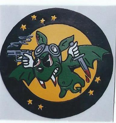 422nd Night Fighter Squadron( leather patch I made)