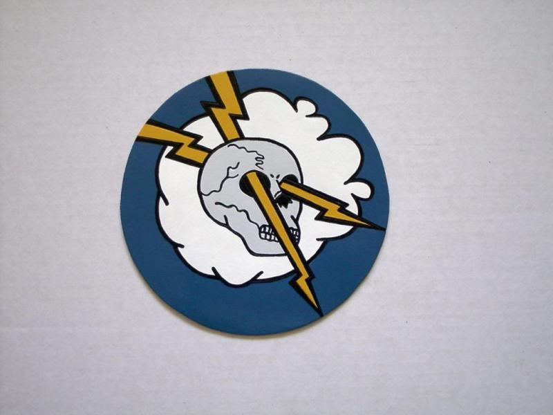 4th Fighter Squadron WW2 (Unofficial) ( leather patch)