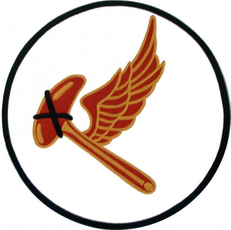 38th Fighter Squadron (leather patch)