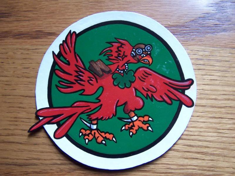 65th Fighter Squadron ( leather patch)