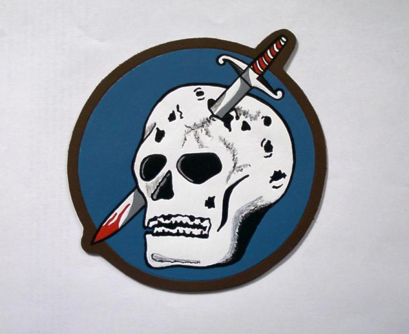 363rd Fighter Squadron (leather patch)