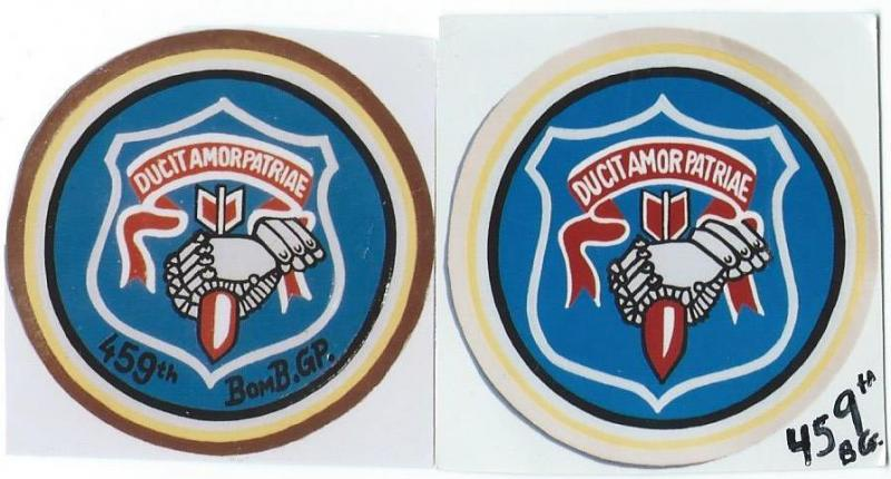 459th Bombardment Group , variations, Motto