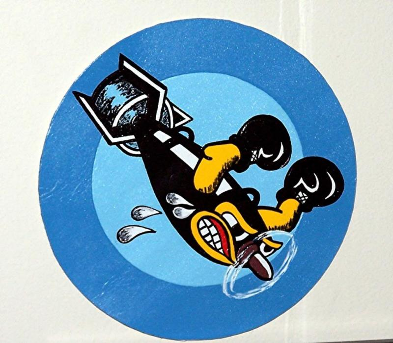 703rd Bombardment Squadron (Jimmy Stewart's unit) (Leather patch) See my Facebook page for info