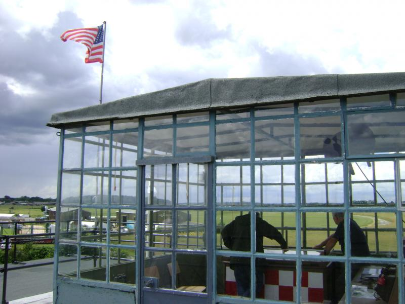 Top of the Control Tower, Parham Airfield Museum