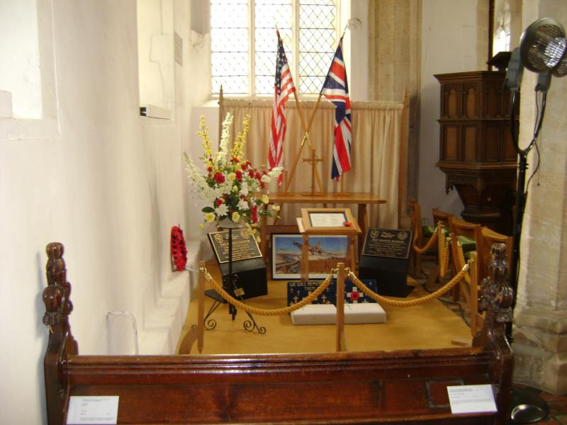 Memorial chapel for the 447th, St Nicholas, Rattlesden