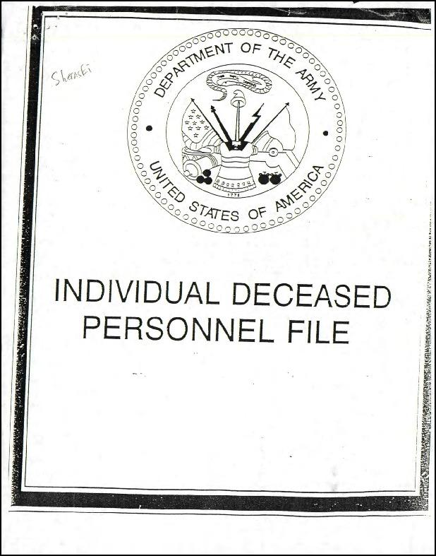 Extract from Individual Deceased Personnel File (IDPF) for Staff Sergeant Richard Sheraski of the 389th Bomb Group researched by historian Bill Beigel. The file contains copies of primary documents that discuss the return of personal effects, circumstances and causes of death, and memorialisation of the fallen airman.    If you require access to the full, unedited file please contact Bill Beigel via his website, www.ww2research.com, or the AAM Team at aamwebsite@iwm.org.uk