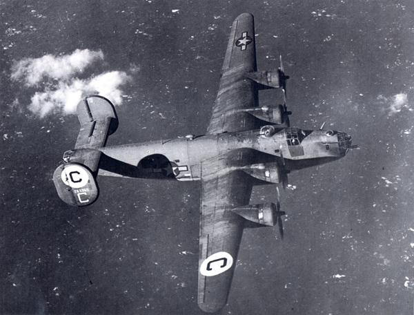 This is B-24D #42-63960 and Neal's plane was #42-63958 (just two after his in the production line...)