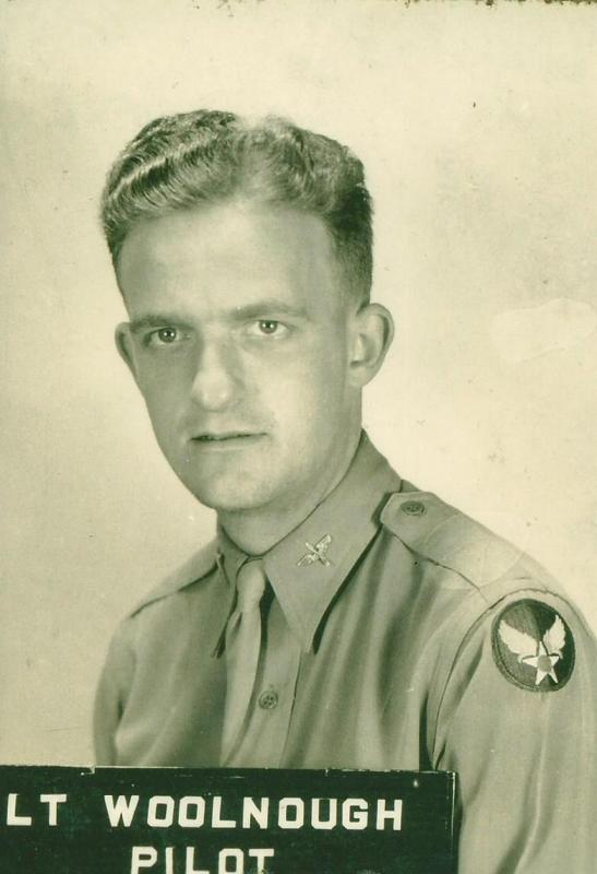 LT John Woolnough Pilot 466th BG - 787th and 784th Bomb Squadron  Would be the founder of both the 466th BG Association and the 8th Air Force Historical Society after the war