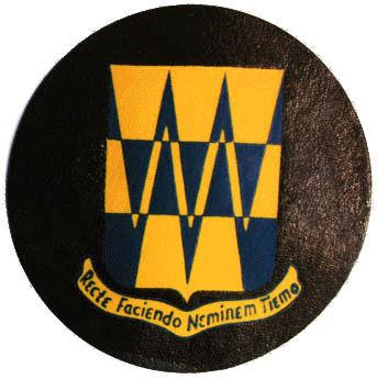 Patch of the 322nd Bomb Group.  Motto reads