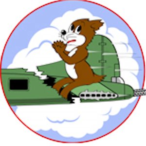 Squadron Emblem of the 414th Bombardment Squadron, 97th Bombardment Group (Heavy)