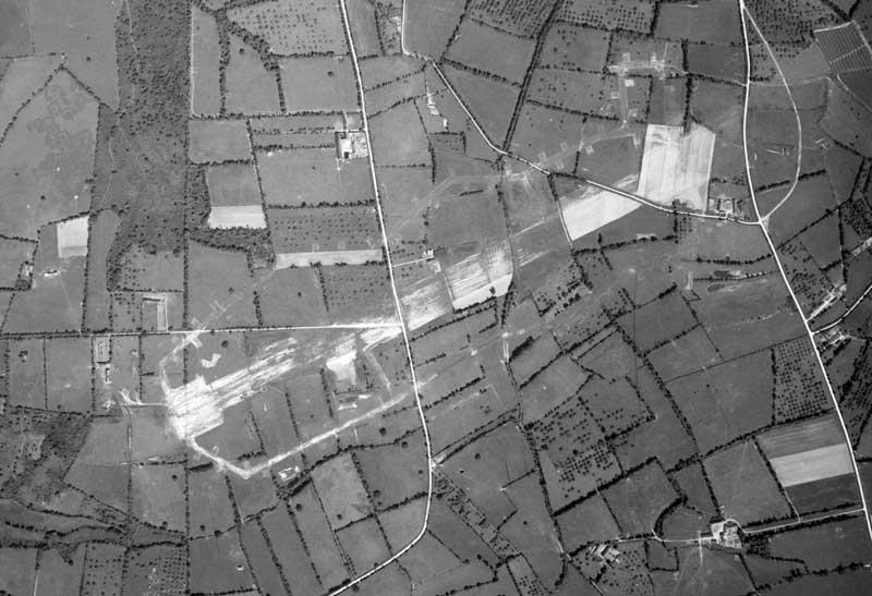 Remains of ALG A-11, Saint Lambert, France. Photo taken in 1947.