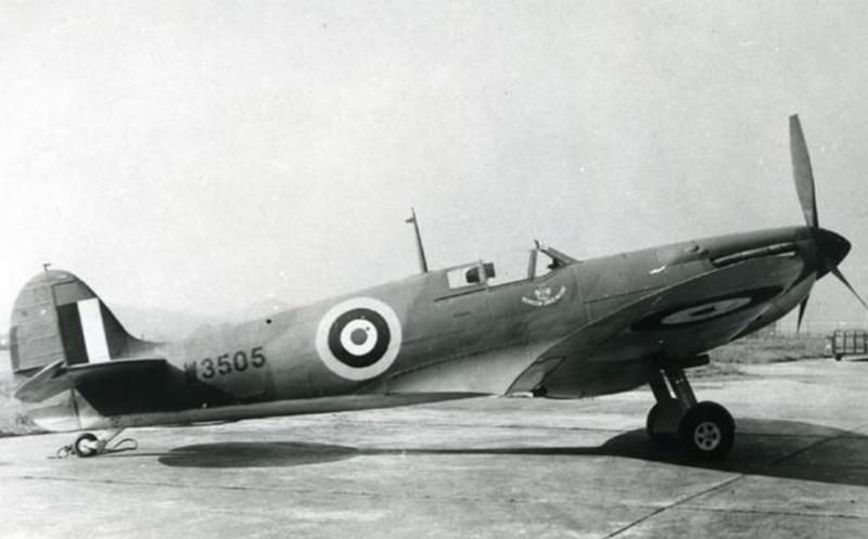 Supermarine Spitfire Mk Vb W3505 109th Obs Sqn, 67th Obs Grp, 8th AF. Mid air collision with Spitfire W3797 14-2-43. Pilot Donald E Lambert baled out and ended up in a tree. Pilot of W3797 KIFA.
