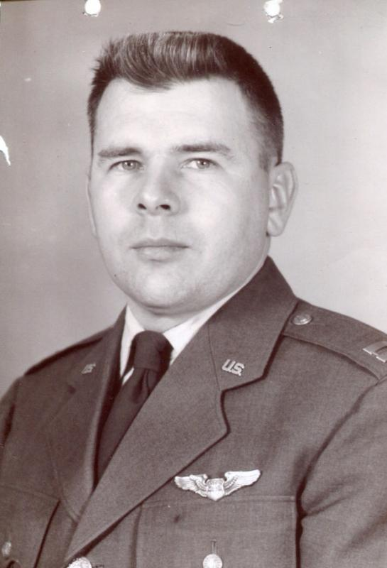 Captain Thomas W. Dunmire As a 2LT flew 25 missions as the navigator on Crew #783 - David Baron Crew.  466th BG - 787th BS