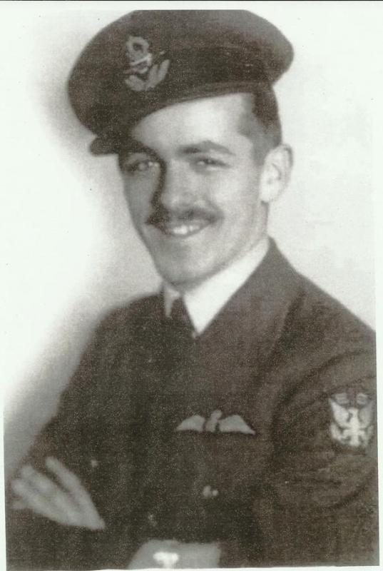 P/O Roland L Wolfe 133 [Eagle] Sqn RAF. Interred in Eire till 44, when he joined USAAF with 78th FG.