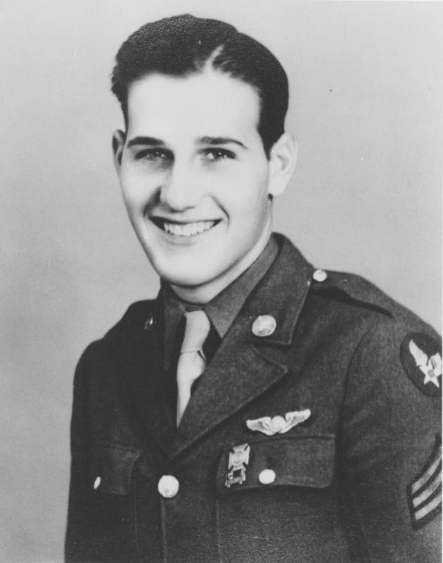Sergeant Glen E Alfter of the 545th Bomb Squadron, 384th Bomb Group.