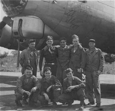 Crew of the Lil Skippy, 708th, Rex, Kates, Frank Mazzio, Charles Wood, Harold Moran and others of the 708th.