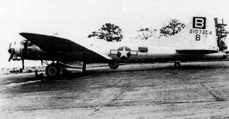 Flying Fortress B-17F 42-107204 'Stand By' 335th BS, 95th BG, 8AF USAAF.