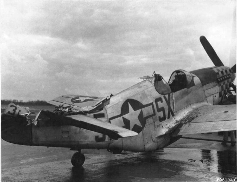 P-51B 43-6876 was a war-weary Mustang assigned to the 352nd Ftr Sq, 353rd FG at Raydon. Utilized for their