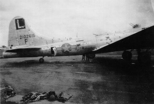 Picture Credit: Boeing B-17 Production 26 February 1944 - 25 April 1944 B-17G-50 to G-60 42-102379 - 42-102978 Paperback – 2015 by David M Gansz (Author)