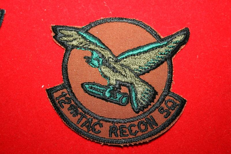 12th Tactical Reconnaissance Squadron patch - approved 2 Feb 1924 (based on the emblem approved for the 12th Aero Squadron by the American Expeditonary Forces in November 1918).