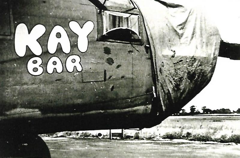 B-24J-90-CO #42-100314 Kay Bar  Code: NB-K