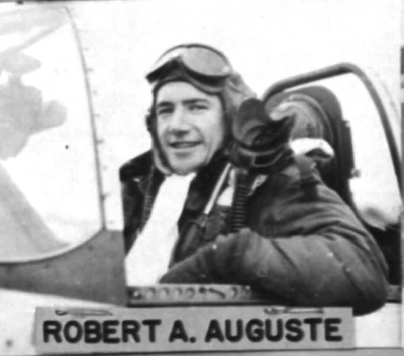1st Lt Robert A Auguste 385FS, 364FG, 8AF. (was born on april 25th, 1923 - killed in action on march 17th, 1945 flying aboard P-51D 44-63184).