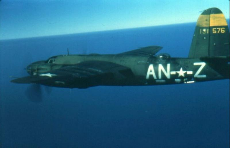41-31576 B-26B Marauder  'Dinah Might' assigned to the 386th Bomb Group, 553rd Bomb Squadron.