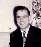 Mr Crawford in 1955. Photo from his son Dean Crawford.