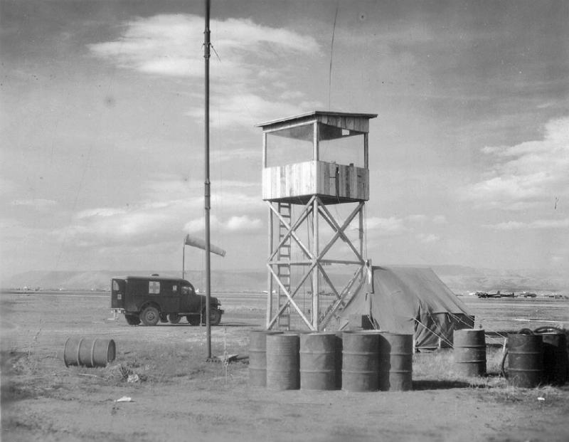 Control Tower at Tortorella Airfield, Italy Home of the 99th Bomb Group