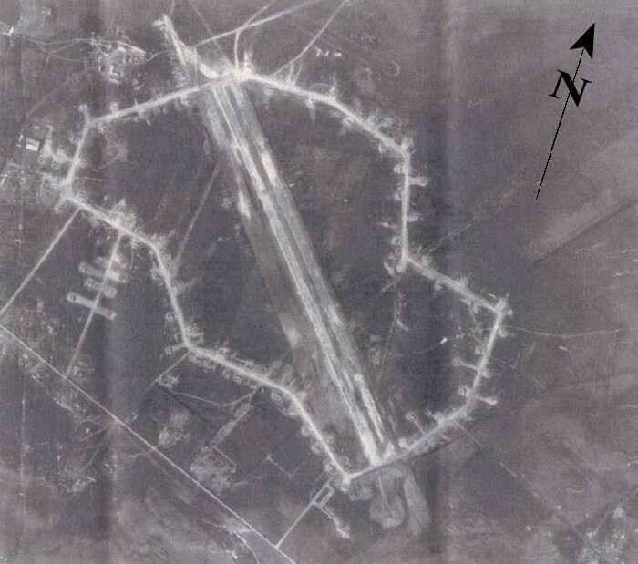Lucera Airfield, Italy part of the Foggia complex of airfields for the 15th AF Home of the 301st BG