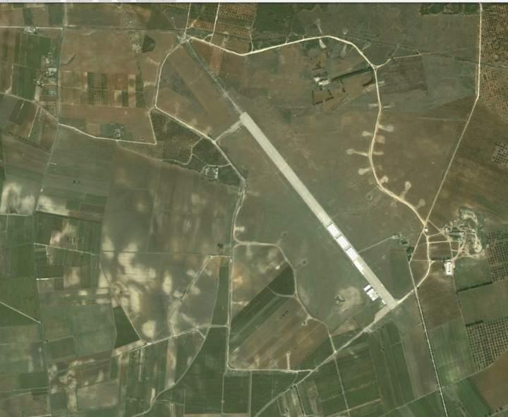 San Pancrazio Airfield in 2006 May be the best preserved of the former 15th AF bomber bases