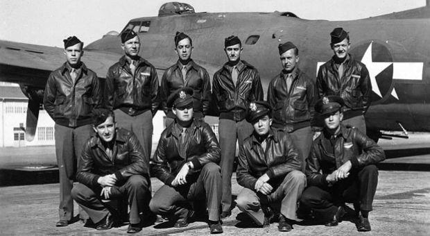 The crew of 379th Bomb Group's