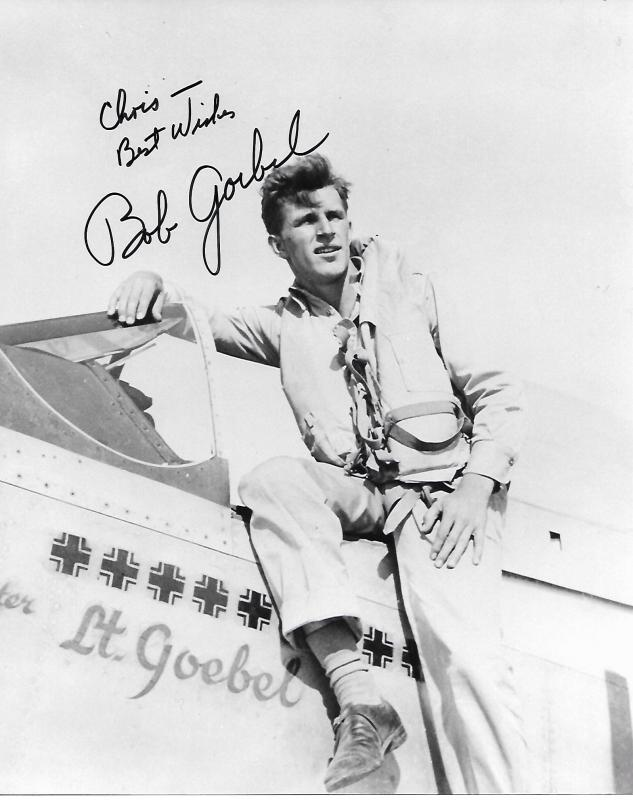 Captain Robert Goebel 11 Victory Ace 31st Fighter Group - 308th Fighter Squadron - 15th AF