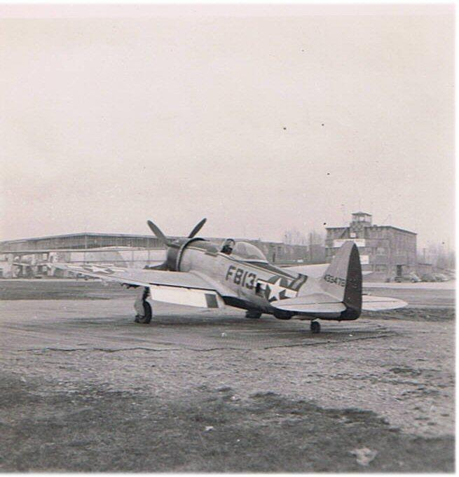 P-47D-30-RA #44-33478  Code:  FB13 27th Fighter Group