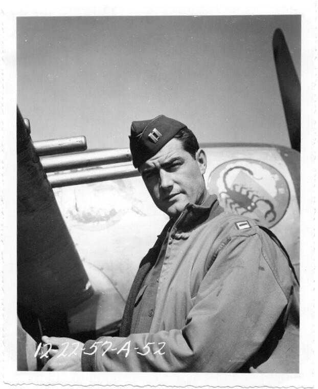 Captain Peter D. Mitchell 57th Fighter Group - 64th Fighter Squadron - 8th AF