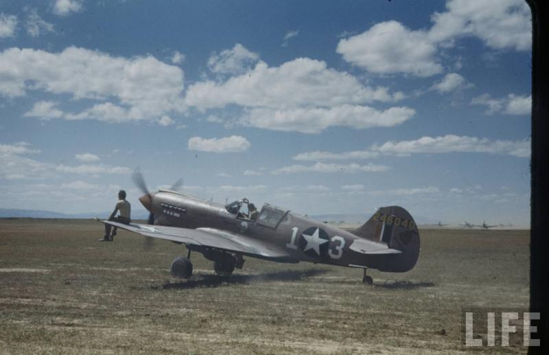 P-40K-1-CU #42-46040 Code:  #13