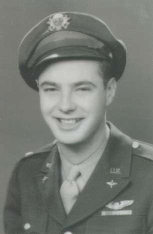 1lt. Robert H. Thompson, Pilot, credited with 35 combat missions with the 447th.