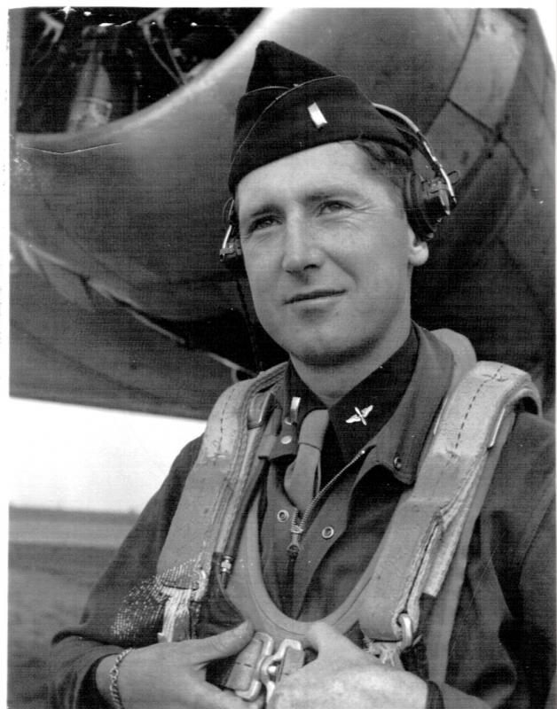 First Lieutenant Ernest F. Witham--flew 18 missions in the B-24