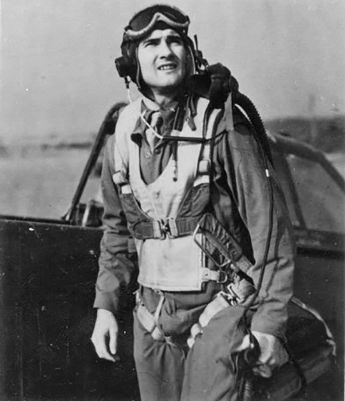 Lt. Eugene W Maben Jr, 358th Fighter Squadron, 355th Fighter Group, killed in action 18th October 1943.