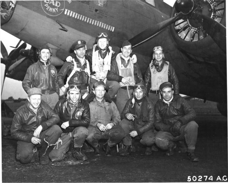 The crew of the Boeing B-17