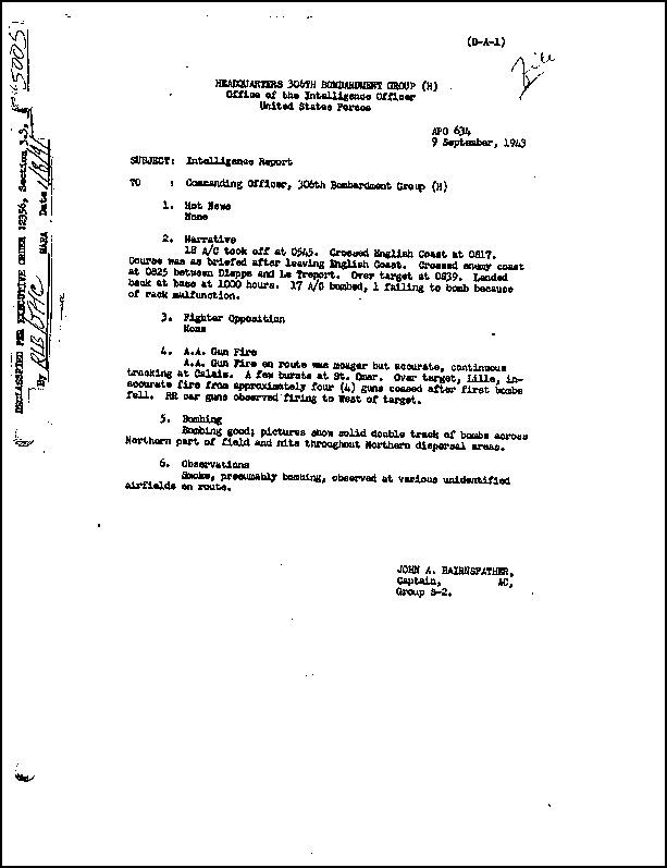 Mission 94 Report, a/c 41-24498