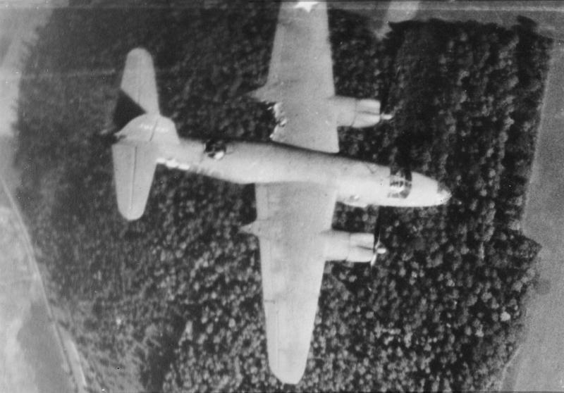 B-26B serial number 41-31721 of the 559th Bomb Squadron, 387th Bomb Group.