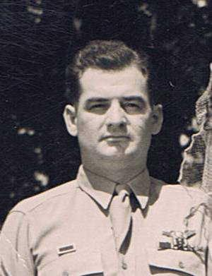 Merrill Demas wedding photo 1944 after returning to the states.