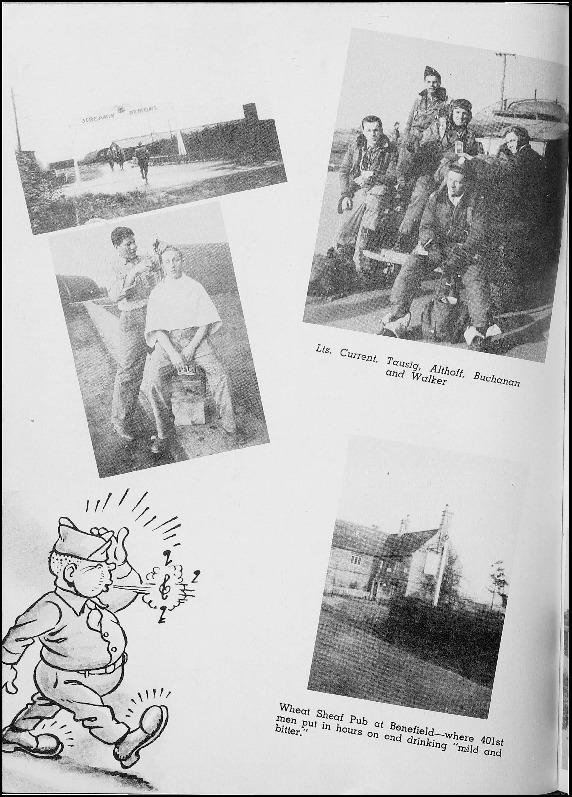 Page 148 of the 401st Bomb Group unit history.
