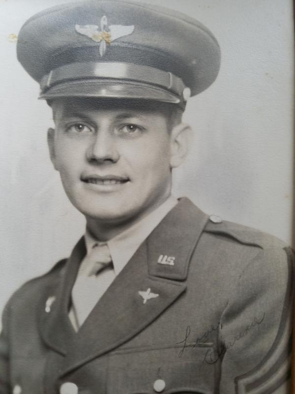 2nd Lt. Clarence Aaberg