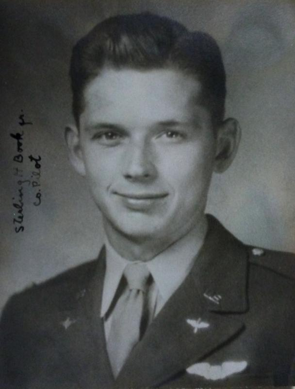 Second Lieutenant Sterling H Book Jr ., 457th Bomb Group, 749th Bomb Squadron.