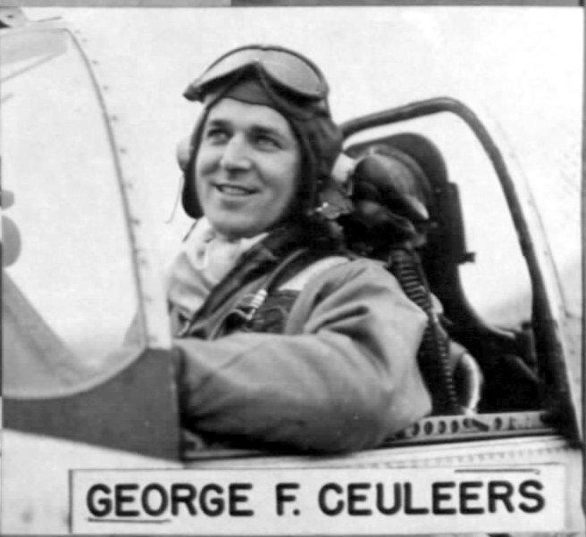 Lt Col George F Ceuleers 383FS, 364FG, 8AF in his P-51D [ either 44-15020, 44-72719 or 44-13971 ].
