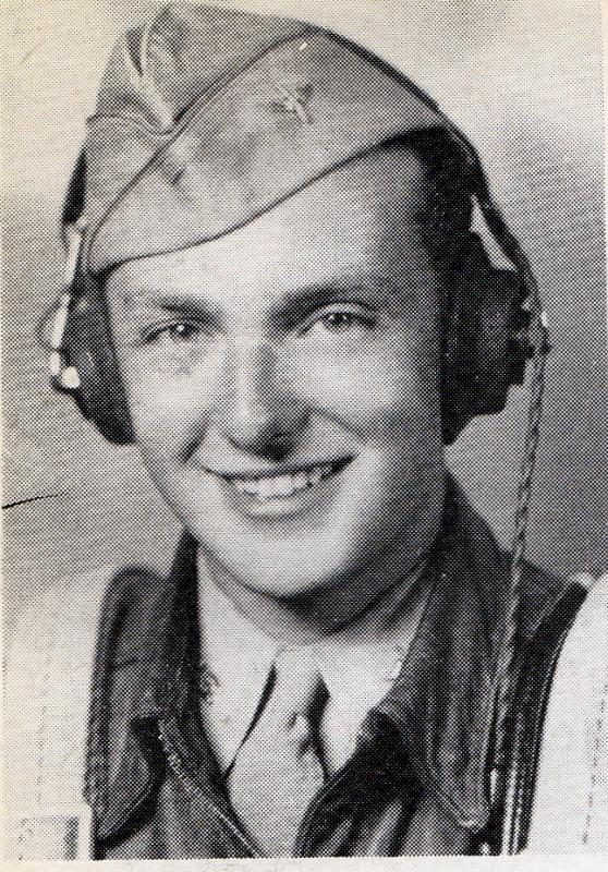 Photo of 2nd Lieutenant Armond L Hankin Armand entered service in March 1943. He was commissioned Bombardier-Navigator on October 23, 1943, San Angelo, Texas. He participated in the Normandy invasion. Reported